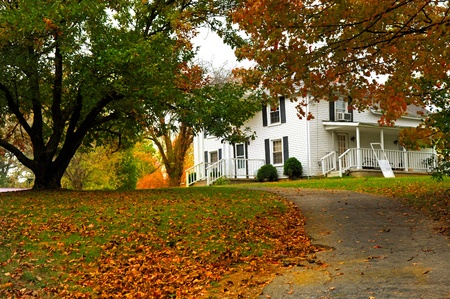 Image of a beautiful southern home in America Stock Photo - 10946534