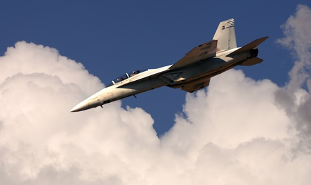 stunts: Great Image of a F-18 Navy Fighting jet