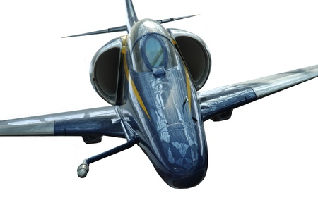 sonic: Image of a front view of Military fighter jet