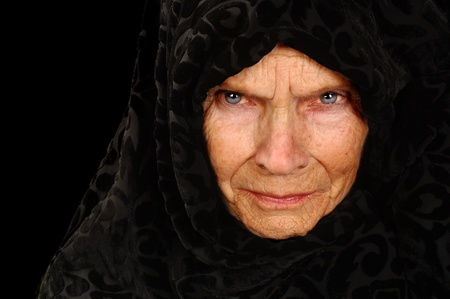 peasant: Amazing Portrait of a Elderly Russian Peasant Woman