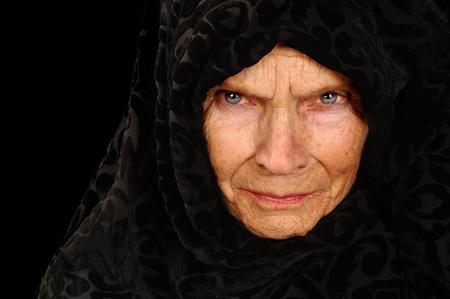 Amazing Portrait of a Elderly Russian Peasant Woman