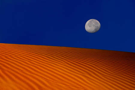 oceana: Image of Beautiful Moonrise In Oceana,California