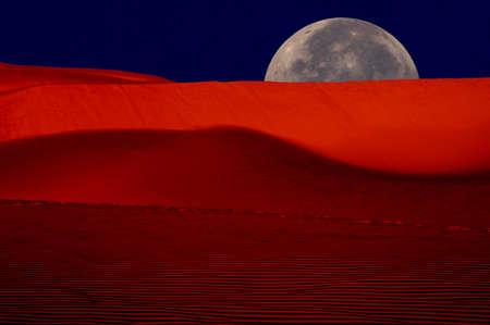oceana: Image of Sunrise over Oceana dunes, California Stock Photo
