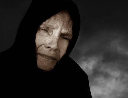 peasant: Image of a very sad Russian Peasant woman