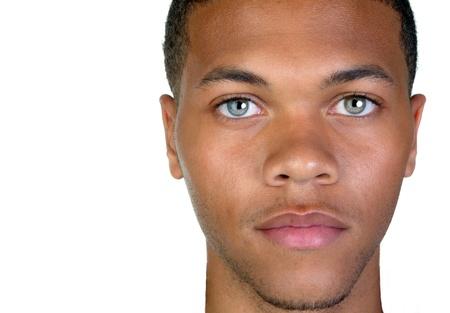 Very Nice closeup of a afro american man photo