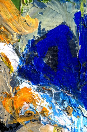 abstract paintings: Nice Large scale Original abstract Oil Painting On Glass