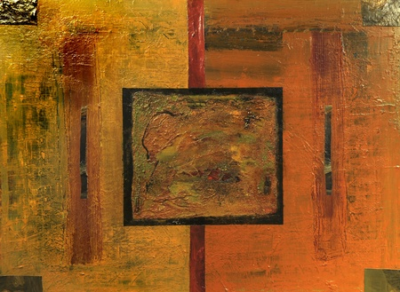 Very Nice Original Abstract oil painting On Canvas