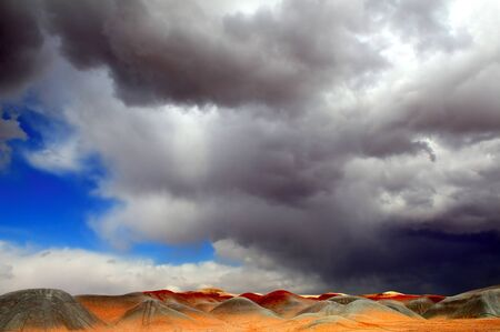 Amazing Image of The Mysteus Sand Dunes Of Monument Valley Stock Photo - 11088957