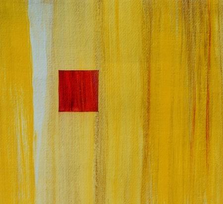 cuadros abstractos: Imagen de una pintura original Resumen Sobre el papel
