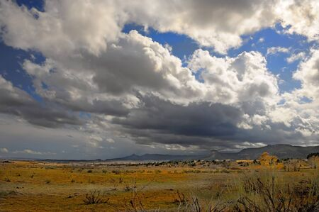 Beautiful image of a passing Storm in new mexico Stock Photo - 11089417