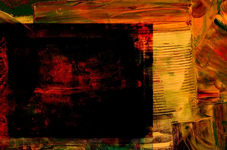 Image of a Large scale Abstract painting On Canvas photo