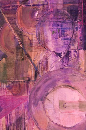 Nice Image of a large scale Original Painting on canvas