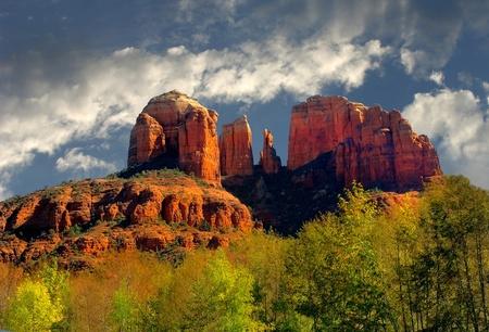 Imagen muy bonita de las rocas en Sedona, Arizona Foto de archivo - 11280725