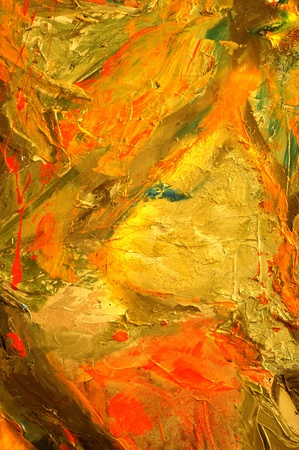 oil painting: very Nice large scale Abstract oil Painting On Canvas