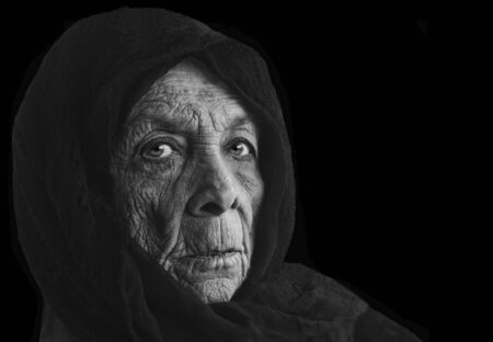 Nice image of a senior Russian Peasent woman