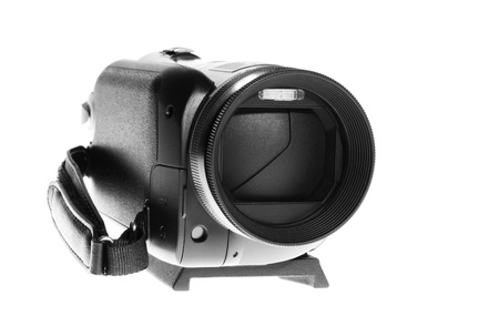 Nice Isolated Image of a Camcorder in studio photo