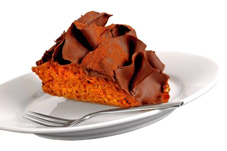 very nice tasty isolated image of a Chocolate Taco photo