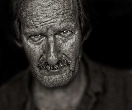 Beautiful Image of a senior farm Worker photo