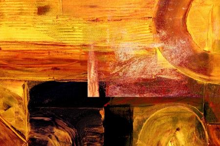 pinturas abstractas: imagen agradable de un resumen a gran escala. de pl�stico en aceite en la lona