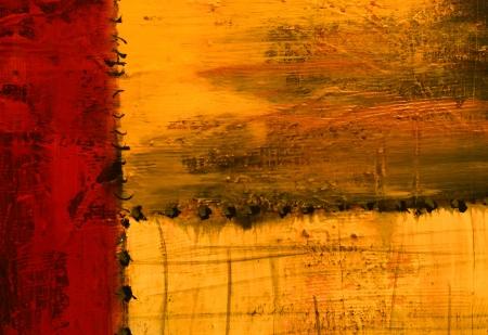 cuadros abstractos: Imagen hermosa de la pintura al �leo original en lona