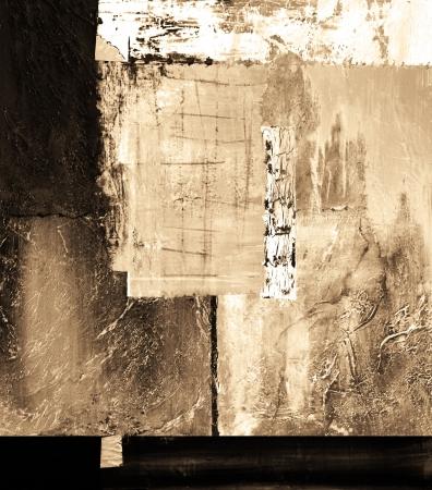 Esta es una pintura al óleo original, Petróleo y Técnica mixta sobre lienzo Foto de archivo - 15785686