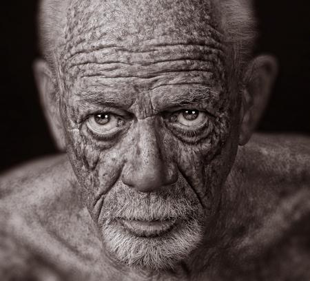 old man beard: Nice Super sharp Image of a Senior Man