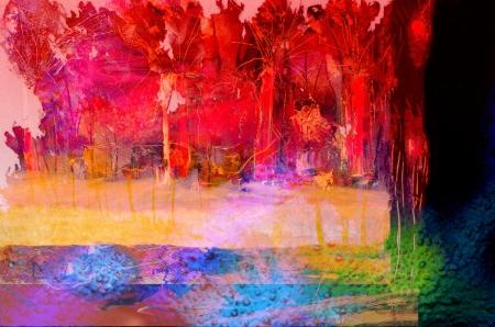 cuadro abstracto: Imagen abstracta muy interesante sobre vidrio en verso Foto de archivo