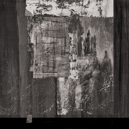 Image of an original Abstract painting On paper photo