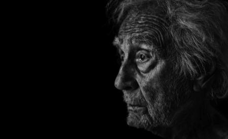 aging face: Very Nice Studio Portrait of a Senior man
