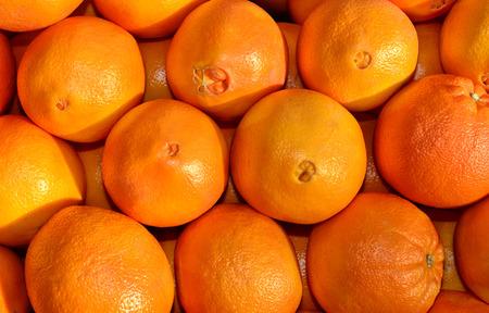 navel orange: Beautiful, healthy Image of a Pile of navel Oranges Stock Photo