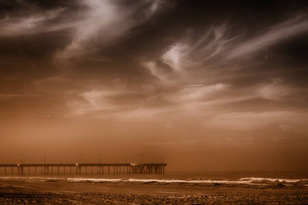 Very Nice Image Of Venice beach Pier,in California photo