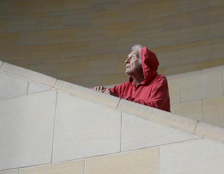高齢ホームレスの男の素敵な画像