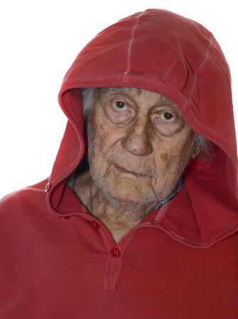 Very Nice Closeup Portrait Of a Senior man photo