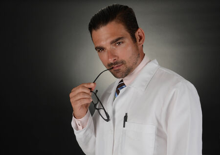 Very Nice Image of a Young Handsome Doctor