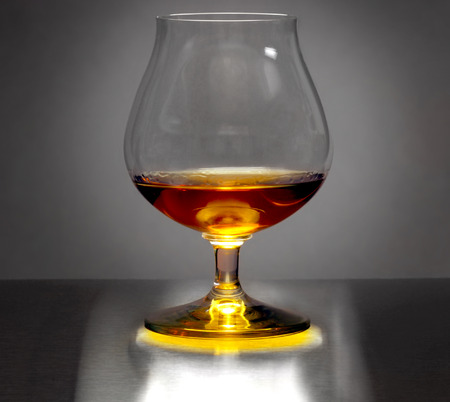 intoxicate: Beautiful Studio Image of a After Dinner Brandy