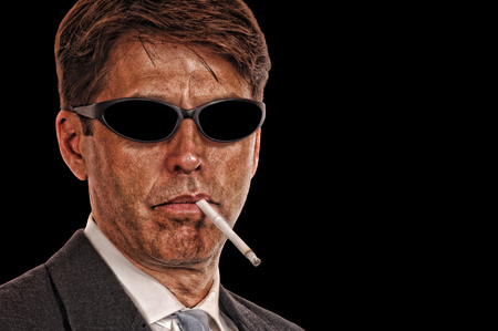 Shady Attorney with sunglasses photo