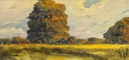 Beautiful original Landscape Oil On Canvas Painting