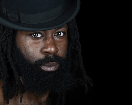 dreadlock: Nice Image of a Handsome Afro American Man