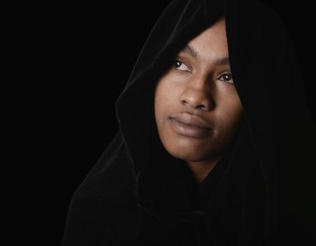 black lady: Nice Portrait of a Muslim Woman