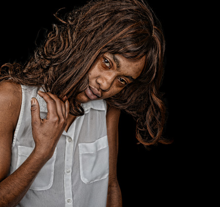 A striking Image of drug addiction