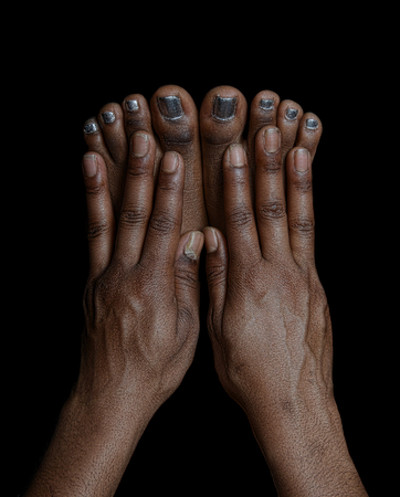 toes: Beautiful , Very Interesting Image of Fingers and Toes.