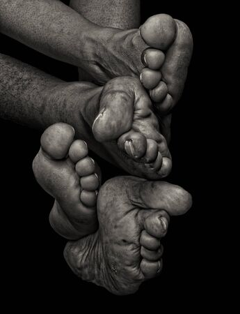 toes: Interesting Image of man and woman feet and Toes collection