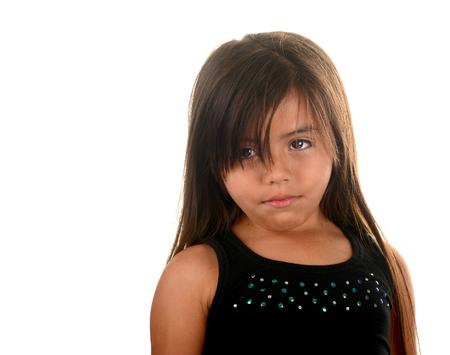 jovenes estudiantes: Bonita imagen de una actriz joven del Latino