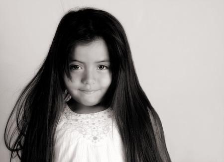 latin american ethnicity: Nice Glamour Image of a Young Latino girl