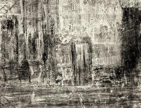 pintura abstracta: Configuración abstracta pintura al óleo en lienzo Foto de archivo