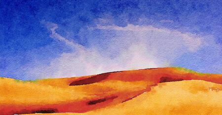 sand dunes: Nice original Painting of The imperial Sand Dunes