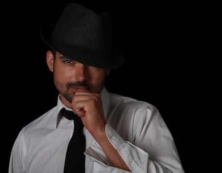 italian man: very nice emotional Portrait of a Handsome Italian man