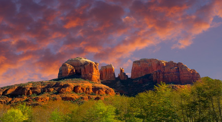 Cathedral rock outside of Sedona Arizona is a must see Destination