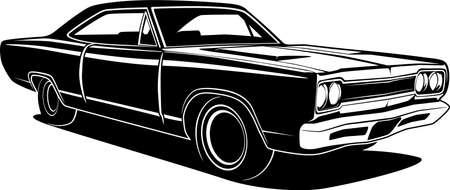 Car vector illustration for conceptual design.