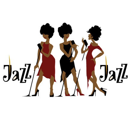 Musicians design concept set with pop rock jazz classical music players. Isolated flat vectors.